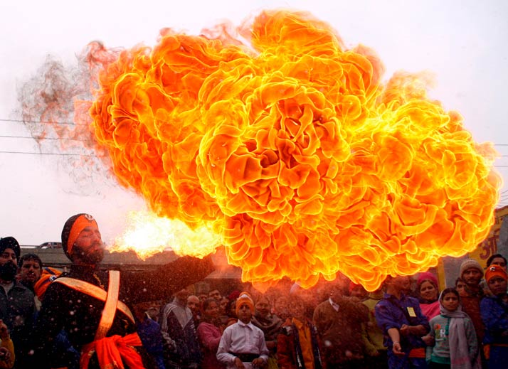 flame-parade