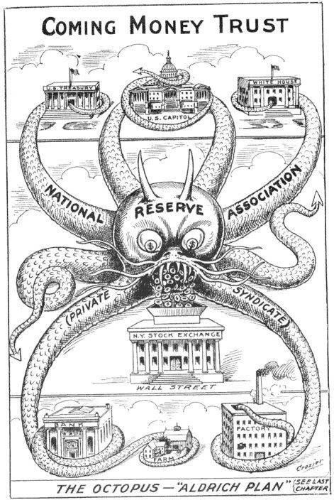 Fed octopus